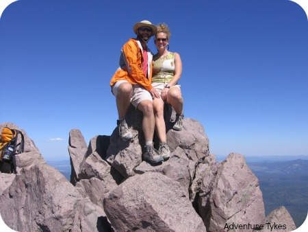 Summit of Lassen Peak