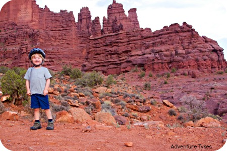 Fisher Towers toddler AT