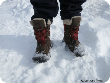 KEEN Basin WP winter boots