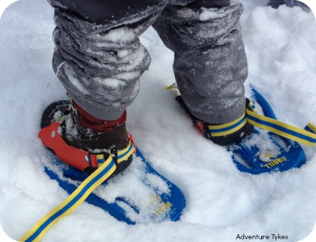 Snowflake snowshoes by Tubbs
