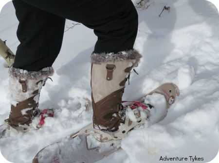 mosnowshoeing