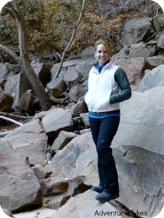 Ibex Tuck Pants in Zion National Park