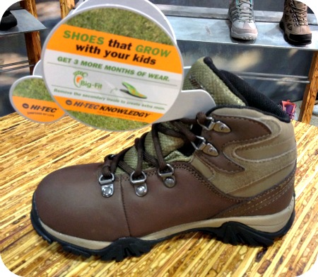 Hi-Tec kids hiking boots