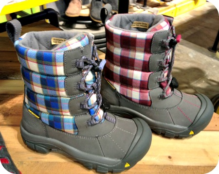 KEEN winter boots for kids