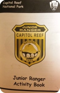 Junior Ranger Workbook