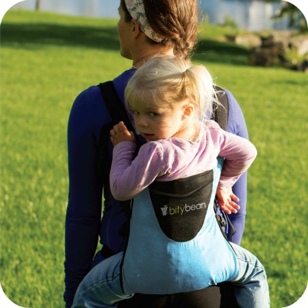 Bitybean child carrier