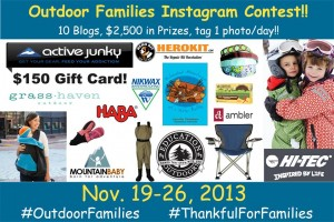 Outdoor Family Giveaway