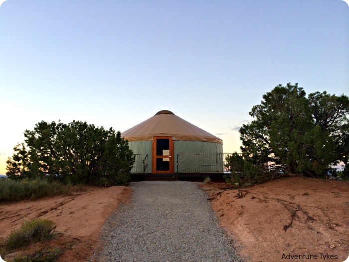 Yurt at Dead Horse Point State Park