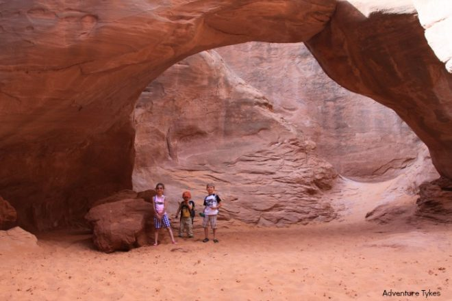 Sand Dune Arch Hike