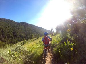 Hiking, Biking and Kayaking in the Tetons